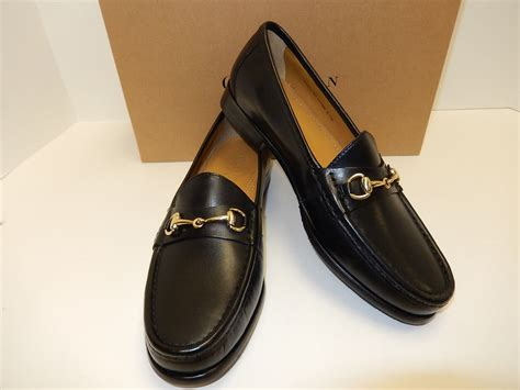 Moda Mio Gold Shoes New With Box cole haan ascot ii black leather s loafers with gold