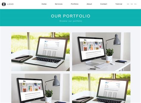 Digital Portfolio Website Template Digital Portfolio Template