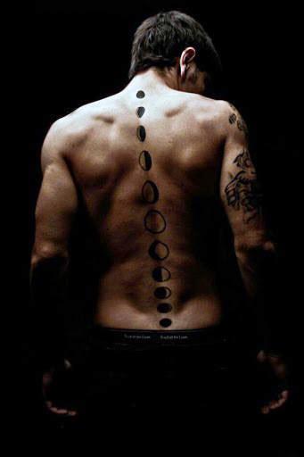 75 spine tattoos for men masculine ink design ideas