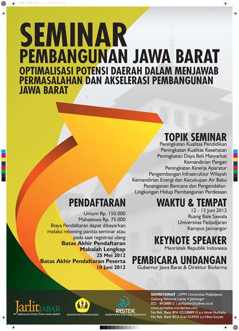 seminar pembangunan jawa barat jarlitjabar