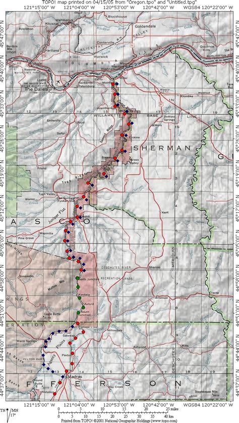 map of oregon railroads oregontrunkrailroad