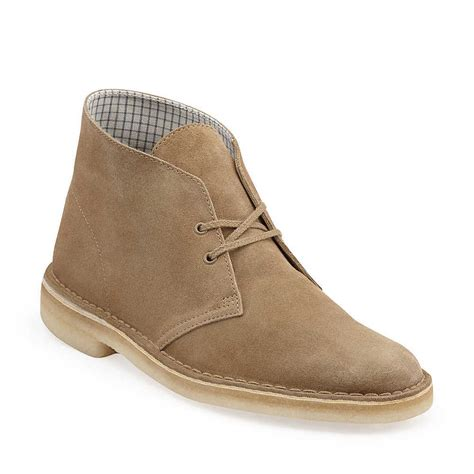 clarks desert boots mens clarks originals s desert boot oak wood suede supreme