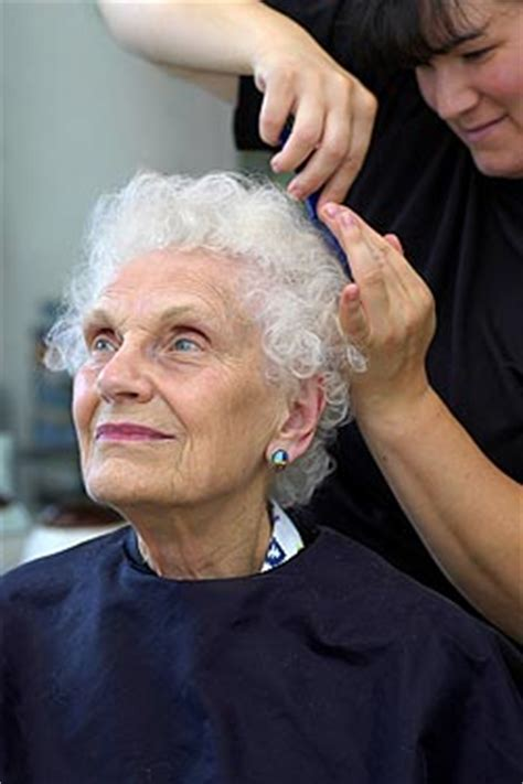 great cuts hair salon senior day caregiver tips hair care for seniors home care blog by