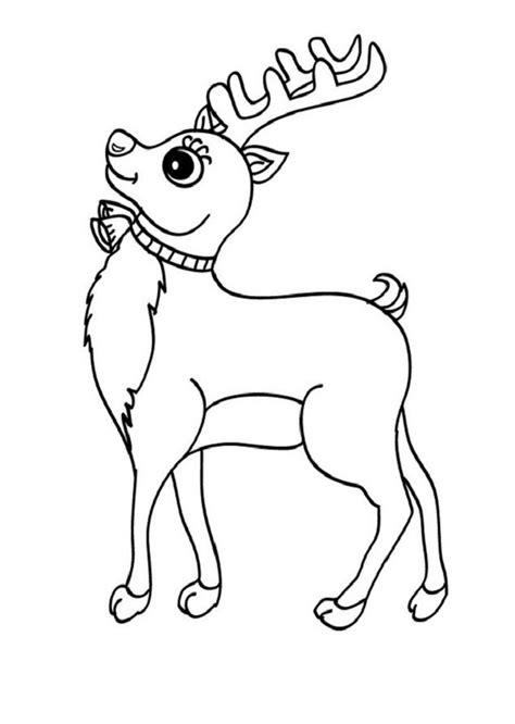 dibujos navideños para colorear renos renos para colorear dibujos para colorear