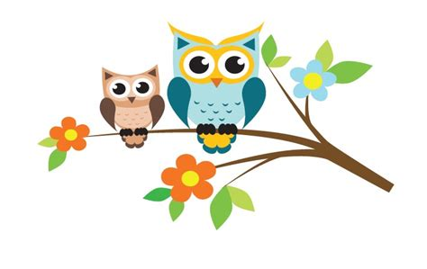 Sticker Wall Murals wall decal tree with owls walldesign56 wall decals