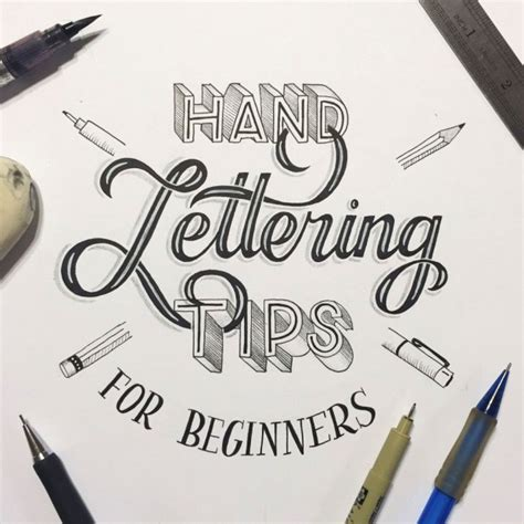 Lettering Tutorial For Beginners | hand lettering for beginners a guide to getting started