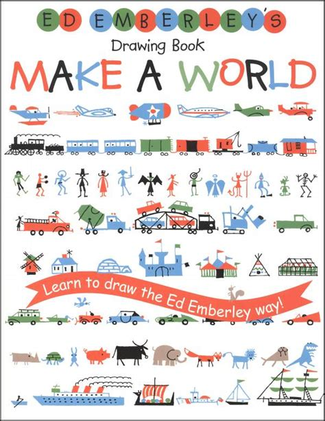 book sketch your world ed emberleys drawing book make a world 037710 details