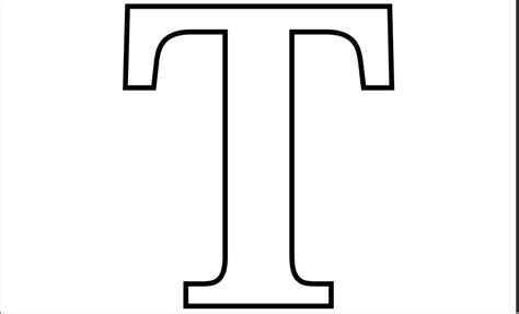 Letter T coloring pages to download and print for free T