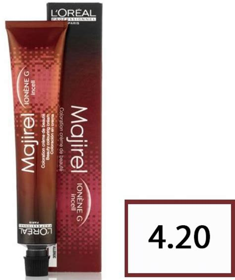 l oreal majirel no 4 3 permanent hair color brown golden reflect 50 ml pack of 3 buy l oreal l oreal majirel hair coloring 4 20 burgundy brown hair color price in india