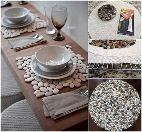 diy dining table ideas 10 wonderful diy placemat ideas for your dining table