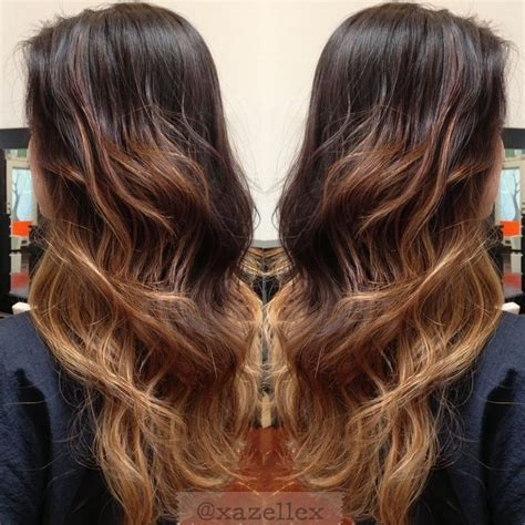 consequences of going from dark to light hair color sozo ombre hair from black to light brown www pixshark com