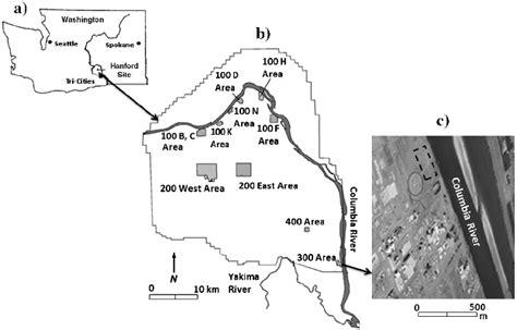 map  washington state  location  hanford site  location  scientific