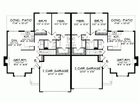 House Plans With Basements by 4 Bedroom Ranch House Plans With Basement Bedroom Review