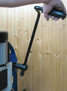 charnwood  woodworking bench morticer