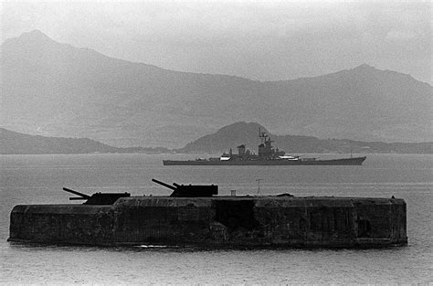 uss new jersey sinks island fort drum the concrete battleship on el fraile island