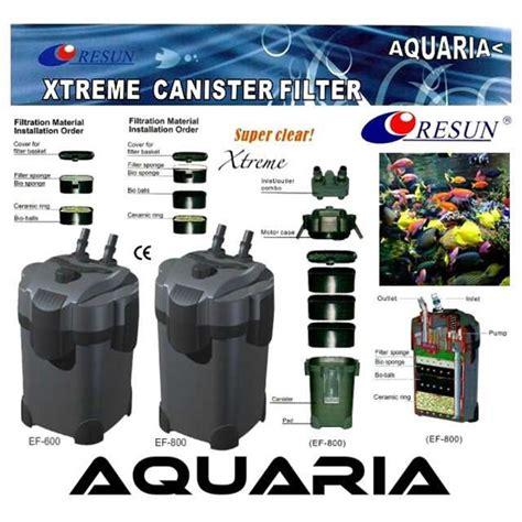 Pompa Air Akuarium Eksternal jual resun external filter xtreme series filter akuarium