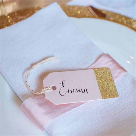 our edit of the prettiest wedding place cards party