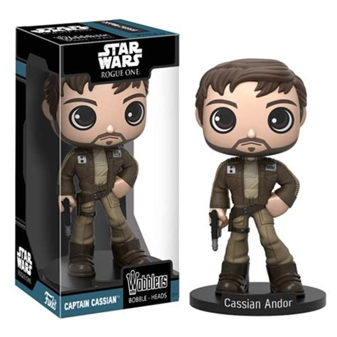 Funko Pop Captain Cassian Andor Wars Rogue One wars rogue one captain cassian andor bobble funko wars bobble heads at