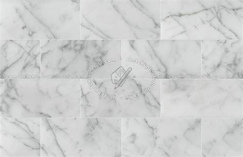statuary white marble floor tile texture seamless 14813
