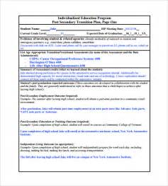 service transition plan template sle transition plan 8 documents in pdf