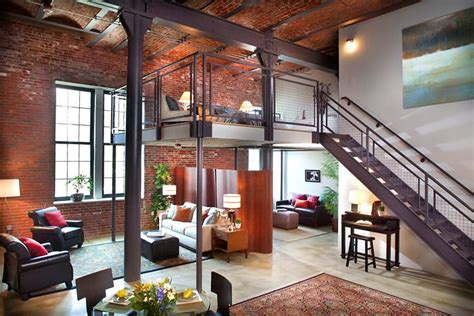 Home Design Boston - loft apartment in boston yes in my world