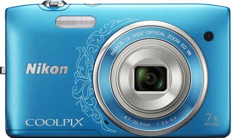 Kamera Nikon S3500 jual kamera digital nikon coolpix s3500 warna biru murah di bekasi black market