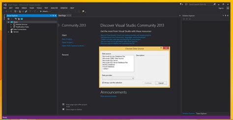 oracle tutorial for mysql users you can use mysql for visual studio in visual studio 2013