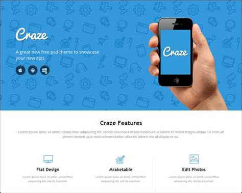one page html5 responsive template free 20 best free responsive html5 css3 templates sanjay