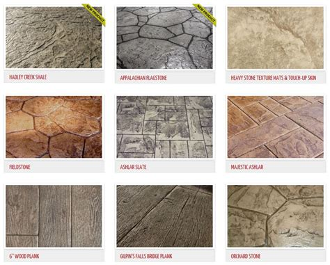 concrete color and design sted concrete patterns st exles