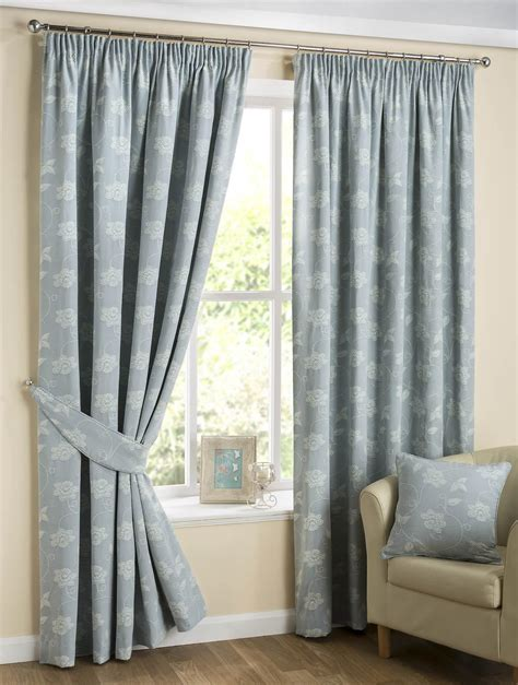 next duck egg blue curtains floral scroll curtains duck egg blue free uk delivery