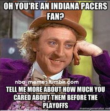 Pacers Meme - playoffs ec finals game 6 heat pacers 6 1 8 30 pm et