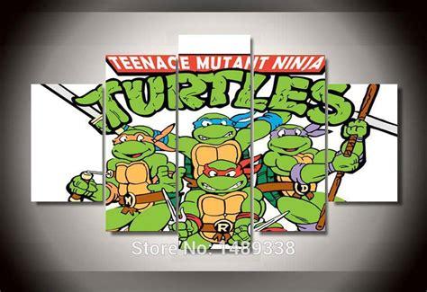 teenage mutant ninja turtles home decor printed cartoon tmnt teenage mutant ninja turtles group