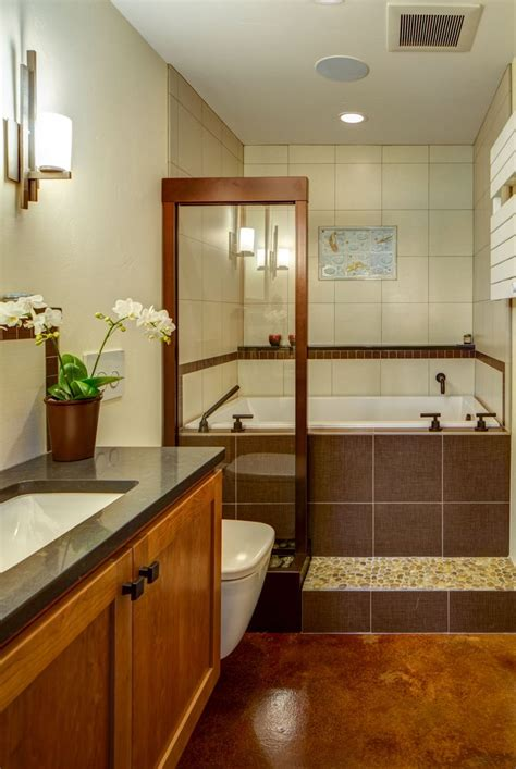 stained concrete bathroom stained concrete flooring in bath building pinterest