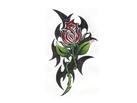gothic flower tattoo designs free tattoos clipart best