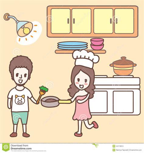 Shabby Chic Kitchen Design cooking in the kitchen cartoon