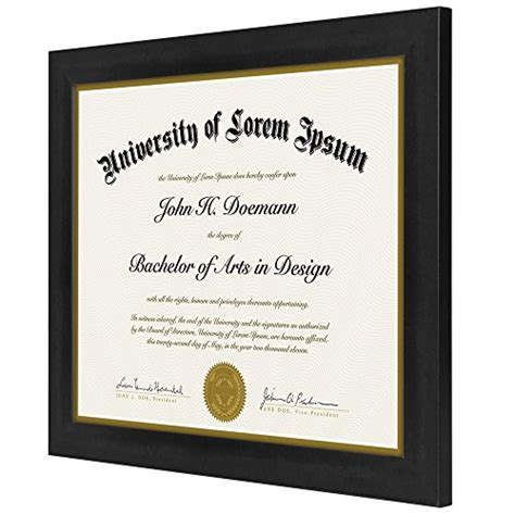 Mba For Diploma Holders In Uae by Americanflat Document Frame Made To Display Certificates