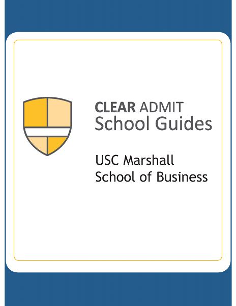 How To Get Into Usc Mba by School Guide Marshall School Of Business