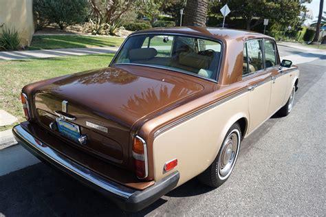 roll royce leather 1979 rolls royce silver shadow ii tan leather stock 782
