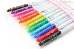 color marker pens pilot frixion colors erasable marker 12 color set