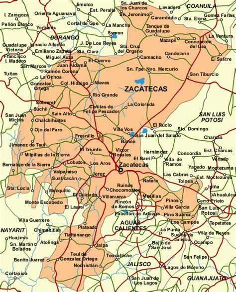map of mexico zacatecas zacatecas is located in n central mexico the city of