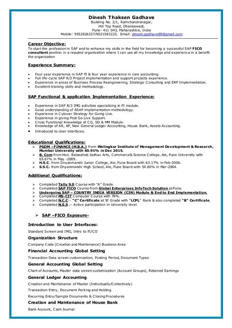Resume Template For 12 Years Experience by Resume Template For 12 Years Experience Images