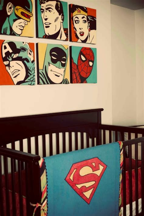 comic bedroom ideas stunning superhero comic book nursery ideas for your boy