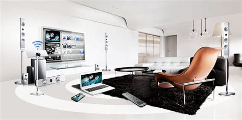 the prestige design of the home theatre system