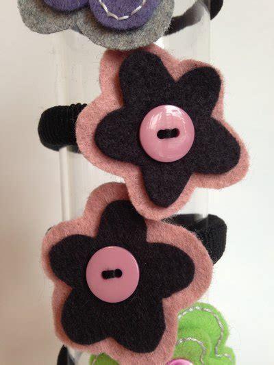 fiore in pannolenci elastico fiore pannolenci donna accessori di amiche