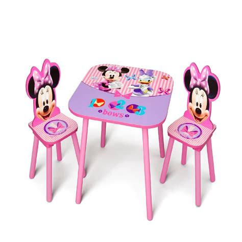 minnie mouse table and chair set 3 pc mickey minnie mouse disney mickey and minnie mouse