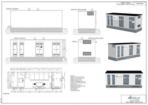 cabina enel prefabbricata cabine elettriche agriplus