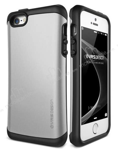 Verus Thor Series For Iphone 5 S Se Satin Silver verus thor series drop iphone se 5 5s light silver kılıf 220 cretsiz kargo stoktan