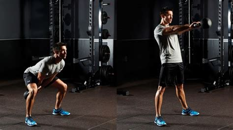 kettlebell swings cardio six week training plan for all round fitness vip fitness
