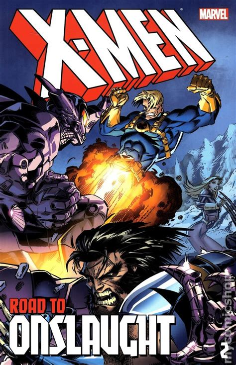 x men the road to 0785188258 x men road to onslaught tpb 2014 marvel comic books