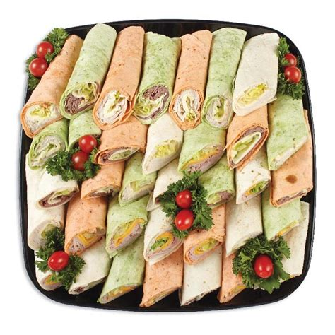 Online Shopping For Home Decor Items by Wrap Delight Sandwich Platters Individual Trays